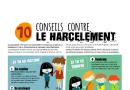 Affiche : 10 conseils contre le harcèlement