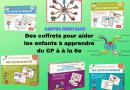 Des coffrets pour réussir l'année scolaire en mathématiques, français, anglais,… grâce aux cartes mentales