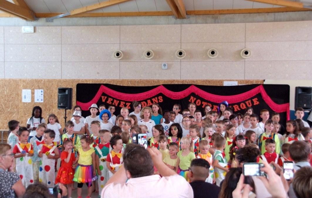 Kermesse de l'école le 23 juin 2018