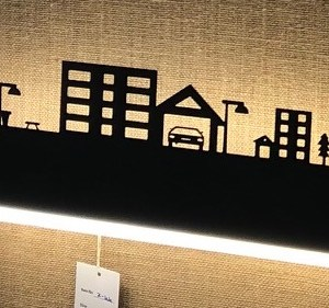 CITY-SCAPE LED wall light at ANGAMALY shop