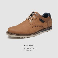 DECARSDZ Men Casual Shoes 2021 New Comfy Office Career Style Men Shoes Classic High Quality Luxury Leather Shoes Casual Sneakers