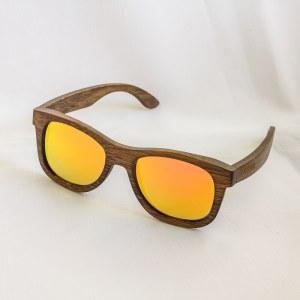Drevené bambusové slnečné okuliare