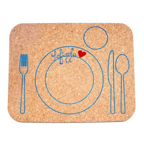 Detské korkové prestieranie na stôl korkii