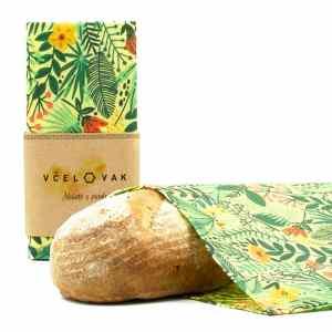 Voskové vrecko na chlieb Včelovak –farby jari