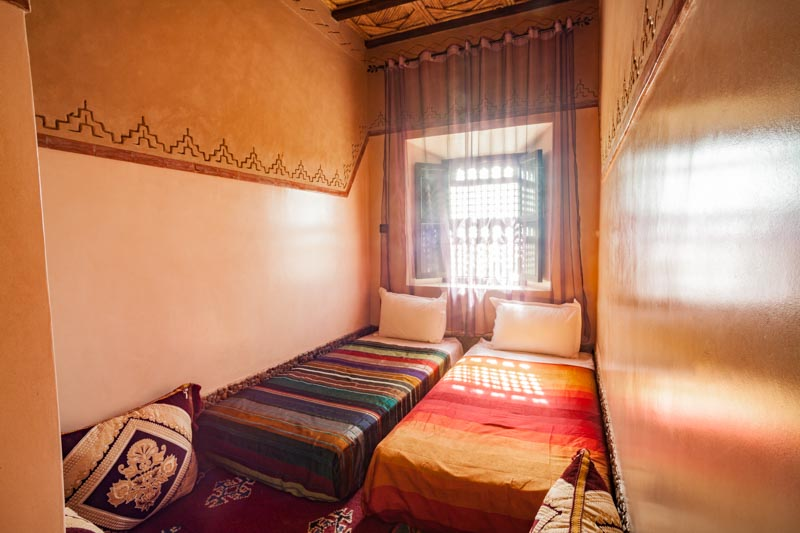 Ecolodge Lile de Ouarzazate lodge room for 4 people