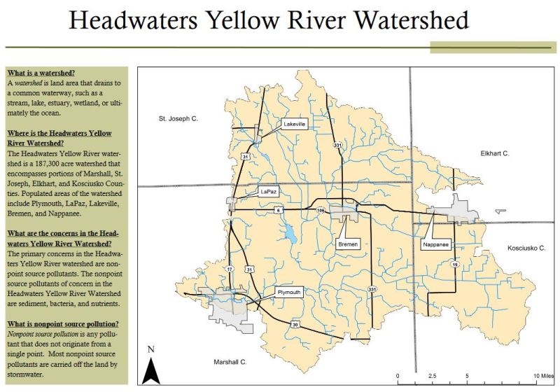 "a final watershed meeting will be held to ""review work completed to date on  the project and discuss future efforts within the headwaters yellow river"