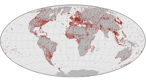 Weather stations world wide (NASA)