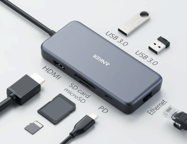 Anker's PowerExpand+ 7-in-1 USB-CD PD Ethernet Hub Review