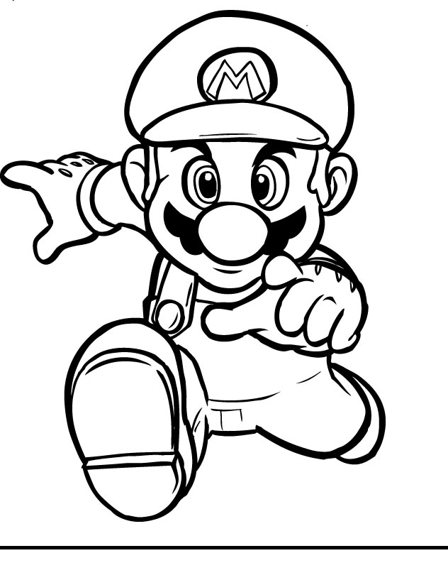 Of Mario And Luigi Free Coloring Pages On Masivy World 132 Super