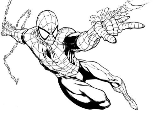 spiderman coloring pages ecoloringpage com printable coloring pages