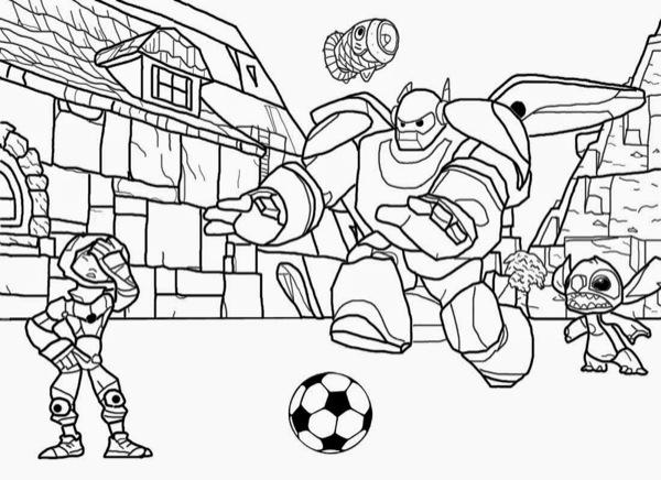 disney / pixar coloring pages  ecoloringpage