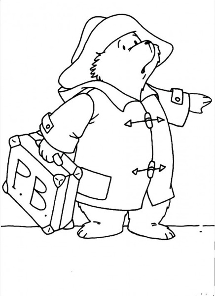 bear coloring page ecoloringpage com printable coloring pages