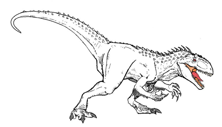 Jurassic World Coloring Pages Trex Jurassic Park Coloring Pages Az