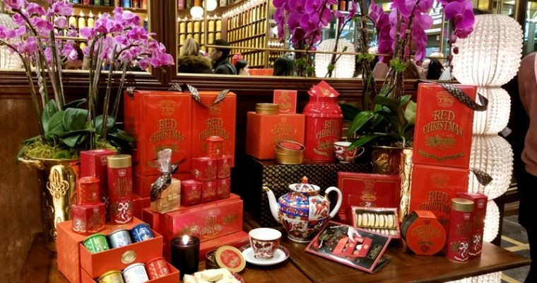 TWG Tea Launches Holiday Giving Season Set