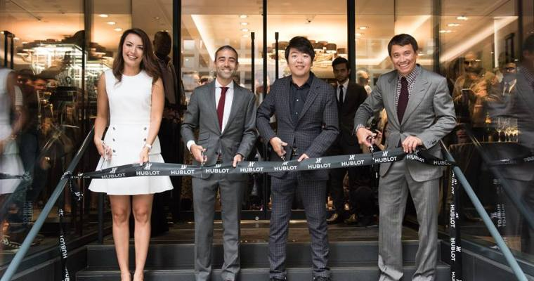 Hublot Launches with Superstar Pianist Lang Lang