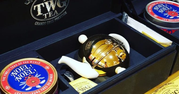 TWG Tea Launches in Luxury Zone