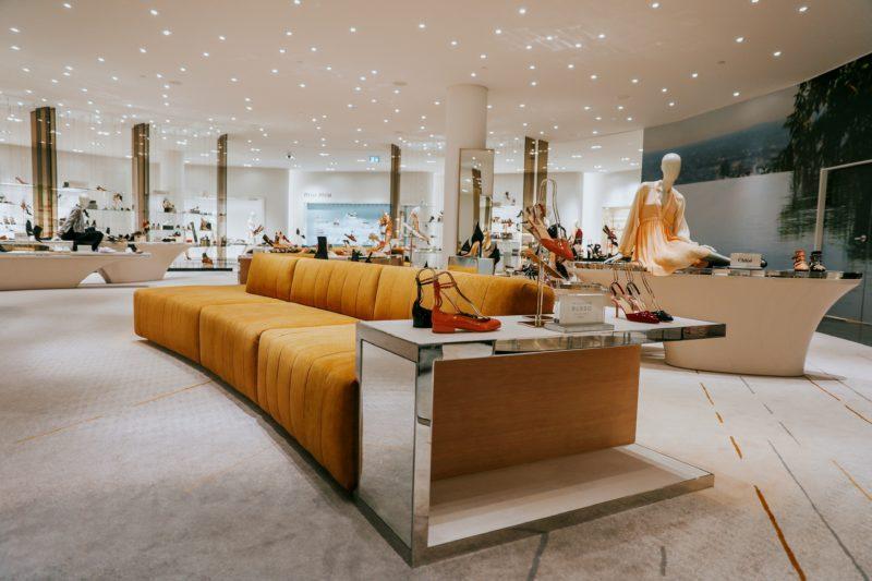 Shoes & Macarons! Holt Renfrew Unveiling