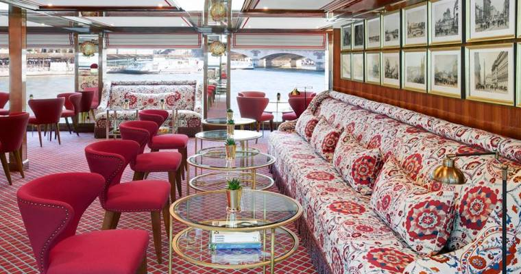 Cruise to Paris Aboard the S.S. Joie de Vivre
