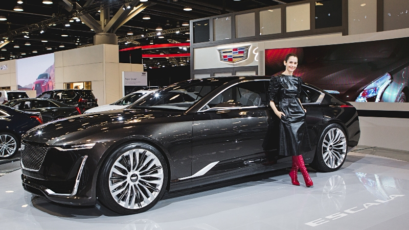 Celebrity Stylist Karla Welch Cruises in With the Cadillac Escala Concept
