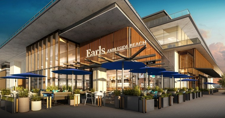 Earls Ambleside Beach Fires Up the Grill
