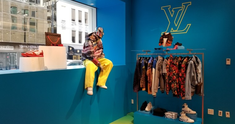 Exclusive to Holt Renfrew: Louis Vuitton S/S 2019 Collection Pop-Up