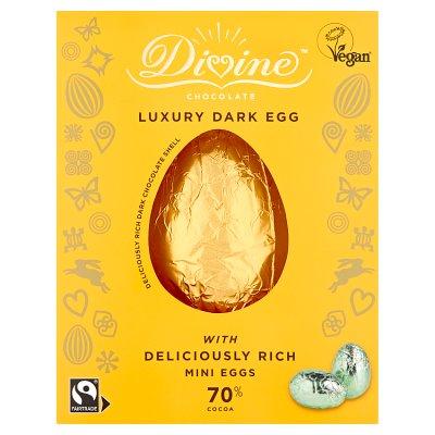 Divine 70% Dark Chocolate with Mini Eggs