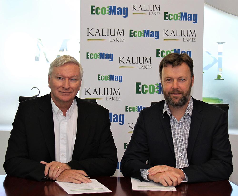 KLL EcoMag Signing