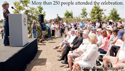 May 3rd, 2013 Malibu Lagoon Restoration Grand Opening Celebration.  Approximately 250 dignitaries, residents, environmentalists, recreationalists and business owners, among others, came together to celebrate the grand opening of the new Malibu Lagoon.  NOTE: Click on image to see video.