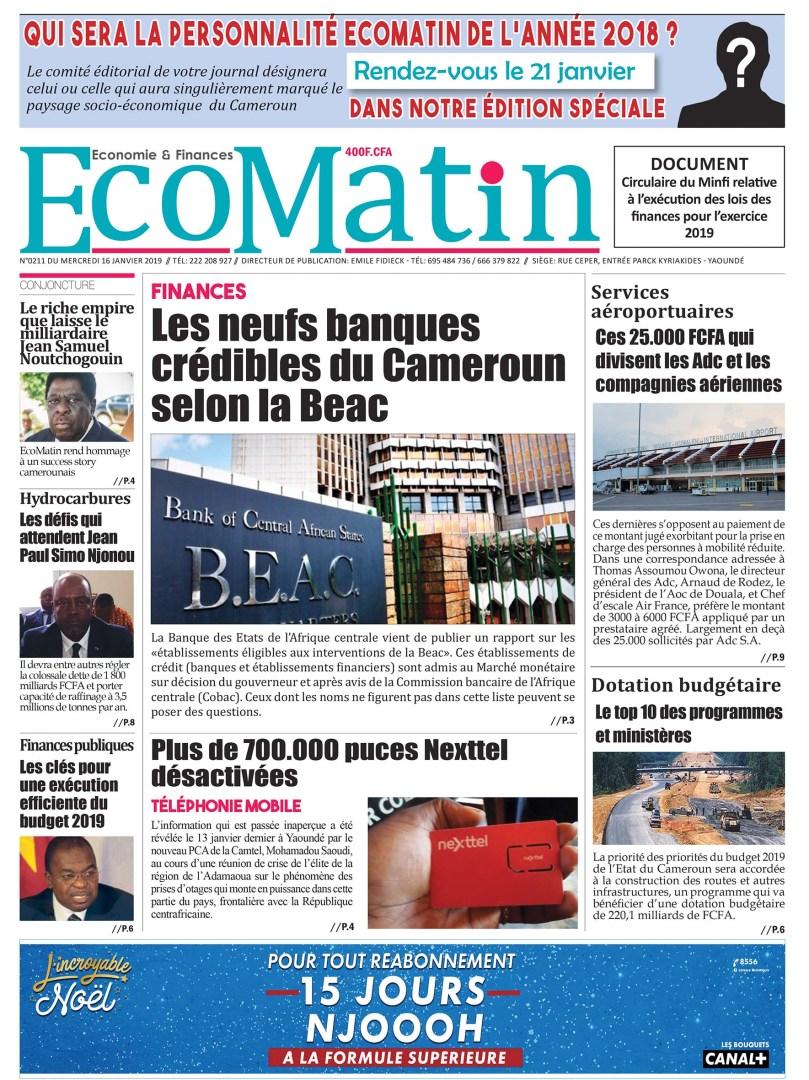 Une EcoMatin210