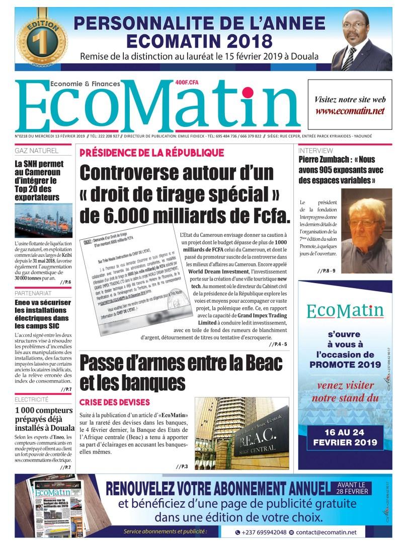 Une EcoMatin215