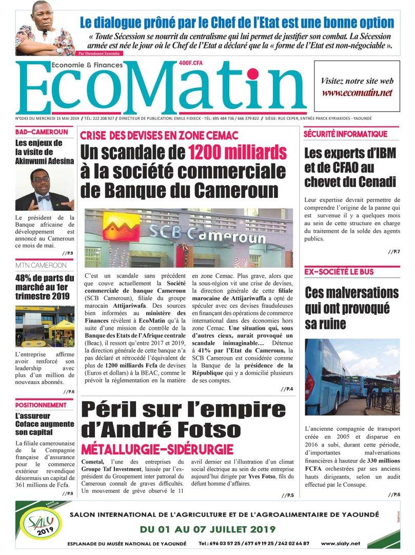 Une EcoMatin243