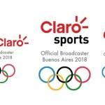 Claro Sports llevará a 17 naciones la emoción de los Juegos Olímpicos de la Juventud Buenos Aires 2018.