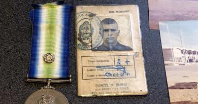 Edgardo Esteban reclamó la devolución de su cédula militar
