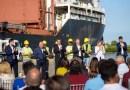Se firmó el convenio para la realización de obras en el Puerto de San Pedro