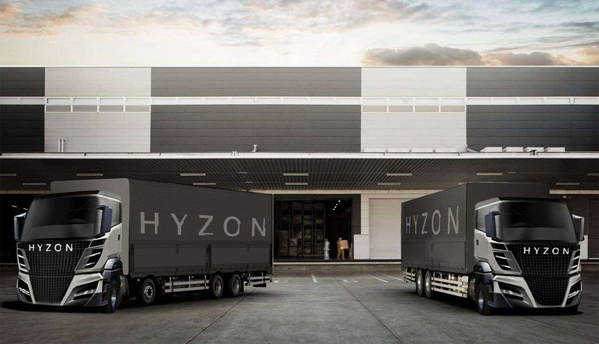 Hyzon Motors eröffnet Europa-Zentrale für Wasserstoff-Lastwagen