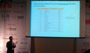 2A Thailand - Echelon 2013 - Paul Srivorakul -Bloom berg most promising emerging countries for investors