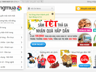 top ecommerce sites vietnam