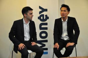 iMoney co-founders: Lee Ching Wei and Bruno Araujo