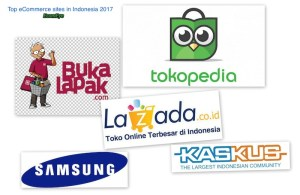 Top ecommerce sites in Indonesia 2017