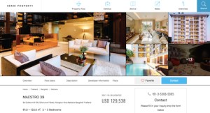 Sekai Property new website design screenshot