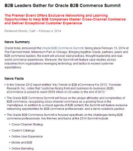 oracle-pr-b2b-e-commerce-summit
