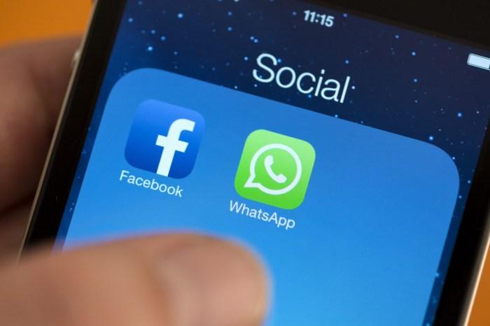 ¡Ya es una realidad!: será posible abrir WhatsApp sin salir de Facebook