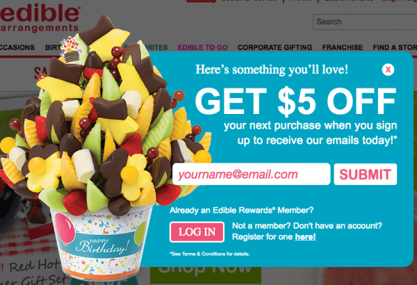 The Most Popular Opt-in Offer Used by Retailers to Get More Email ...