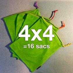 16 ÉcoSacs Carebags®