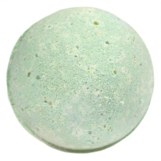 Peppermint and tea tree bath bomb