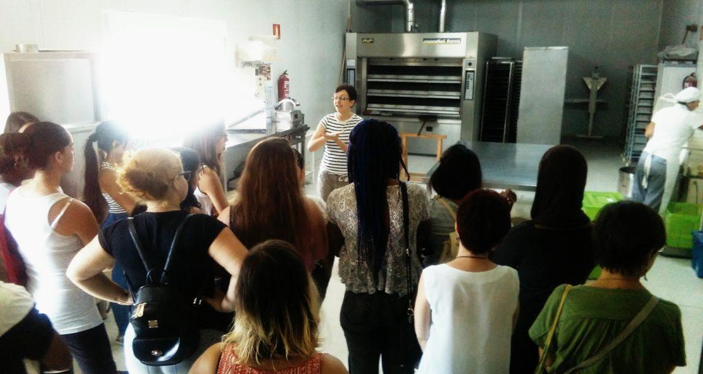 Visita de la Cruz Roja 2017 a Ecomonegros