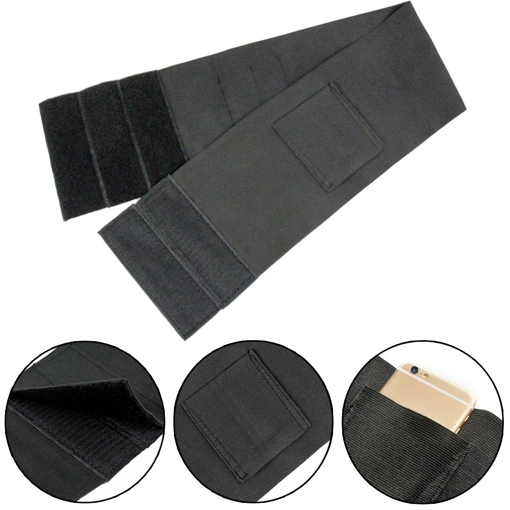 37-Adjustable-Tactical-Elastic-Belly-Band-Waist-Gun-Holster-2-Magazine-Pouches-Concealed-Carry-Universal-Pistol (2)