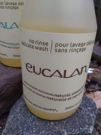 Single Bottle Eucalan Wool Wash - natural