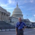 Me standing in front of the Capitol building