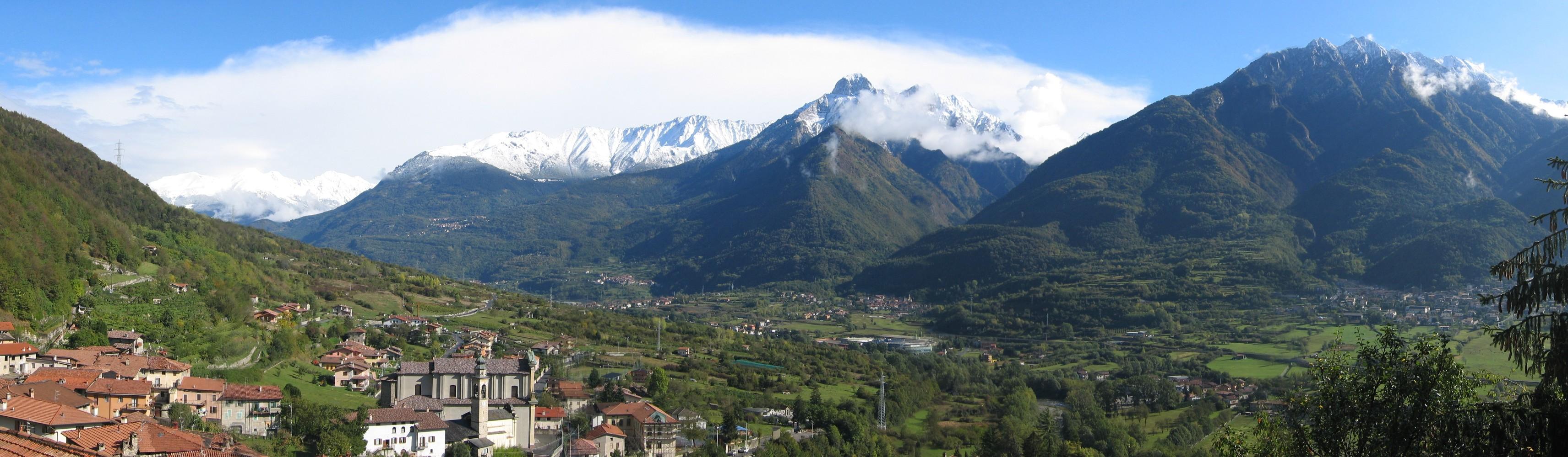 le montagni intorno a Losine